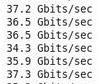 37 Gbits