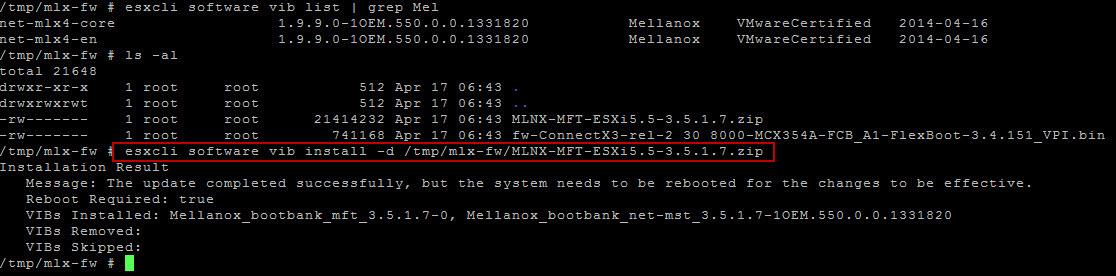 Install Mellanox MST