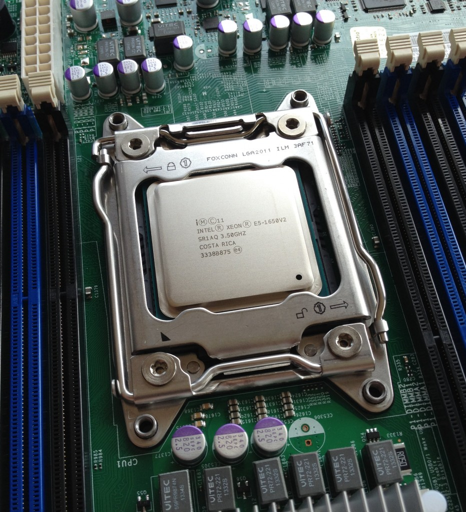 Intel Xeon E5-1650v2 and Narrow ILM