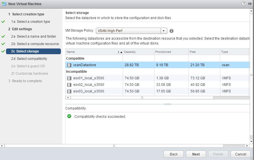 04 - Select VSAN Datastore