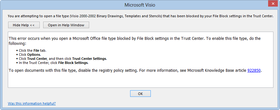 there - Visio Open