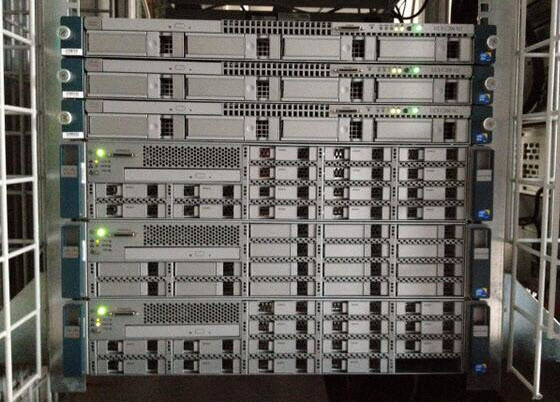 Office Lab with Cisco UCS C Series