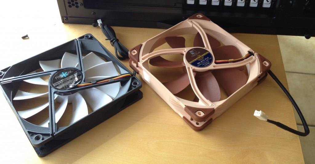 Fractal Design Silent Series R2 & Noctua NF-A14 FLX