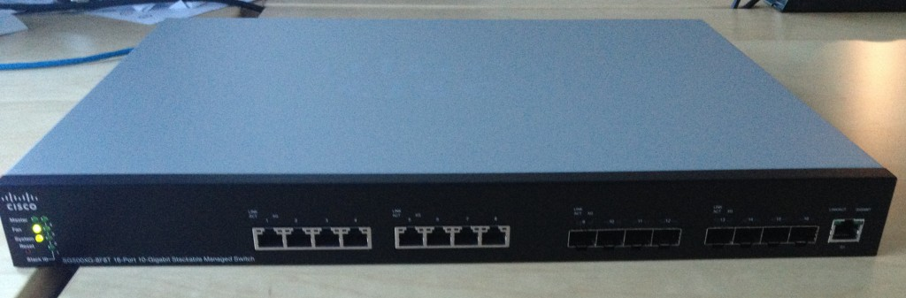 Cisco SG500XG-8G8T